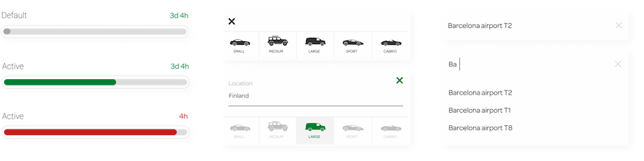 Progress bars and UI Controls image