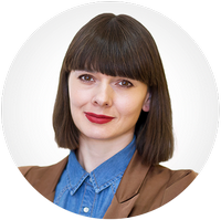 HR manager Lyudmila Voroshilova
